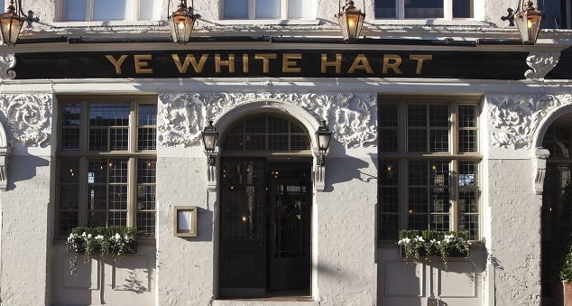 The White Hart: one of our three excellent Barnes venues.